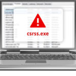 fix csrss.exe trojan error