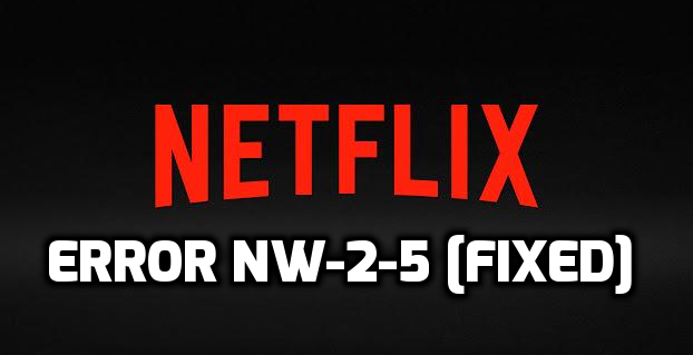 how to fix netflix error nw-2-5 on playstation 3/playstation 4